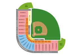 River Cats Seating Chart