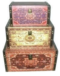 Decorative Storage Boxes Uk Storage Decorative Boxes Oriental Style Earth Tones Decorative 43