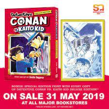 Detective Conan Vs Kaito Kid - Dowload Anime Wallpaper HD