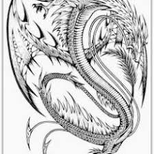 Bright Idea Flying Dragon Coloring Pages For Adults Fattkay