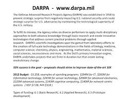 Ppt Darpa Darpa Mil Powerpoint Presentation Free