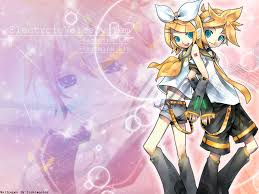 vocaloid rin and len background