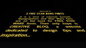 7 epic Star Wars fonts