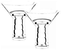riedel o martini glasses set of 2