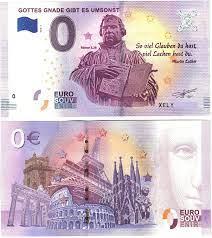 Gibt es den schein nicht mehr, werden neuer 100 euroschein bei amazon. Eurosouvenir 0 Euro Schein Gottes Gnade Gibt Es Umsonst Lutherjahr Amazon De Spielzeug