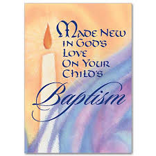 Baptism Cards Made New In Gods Love