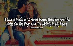 Music Love Quotes Enchanting Love Quotes Love Is Music