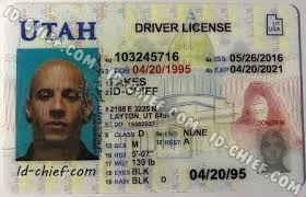 Id-chief Scannable Utah Id Fake Cards Maker