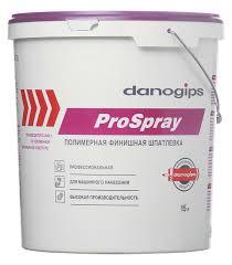 <b>Шпатлевка Danogips</b> Pro Spray <b>полимерная</b> 15 л/25 кг — купить в ...