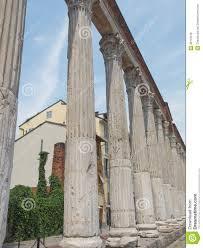 Colonne Di San Lorenzo Mailand Stockfoto Bild 39116016