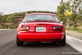 One Amazingly Clean Miata - The 1995 RallyWays Miata NA8