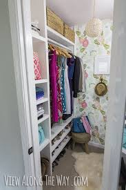 stunning diy closet makeover on a small budget check out all these ideas you