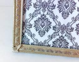 large silver vintage picture frame