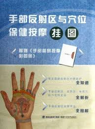 Hand Reflection Chart 9787533542528 Wall Chart Of Hand Reflection Area And