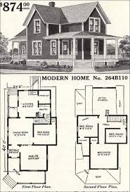 large list of traditional home floor plans sears no victorian farmhouse with wrap around porches
