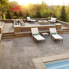 patio designs with fireplace. Loveseat Also Chair Plus Ottoman In Outdoor Patio Design Among Fireplace Designs With