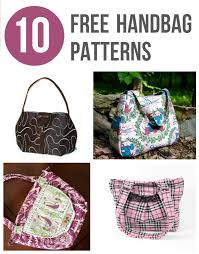 Handbag Patterns Stunning Free Handbag Patterns Top 48 Purses To Sew