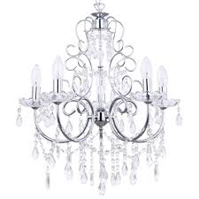 chrome chandelier fast free delivery