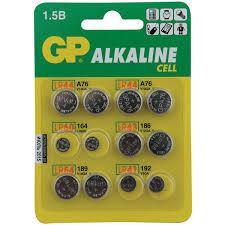 Купить <b>Батарея GP Набор</b> батареек LR41, LR43, LR44, LR54 ...