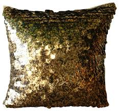 Black And Gold Decorative Pillows