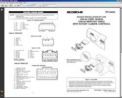 2000 ford taurus radio wiring diagram womma pedia 2000 ford ranger radio wiring diagram at 2000 Ford Radio Wiring Diagram