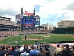 Comerica Park Section 125 Row 13 Seat 1 Detroit Tigers Vs