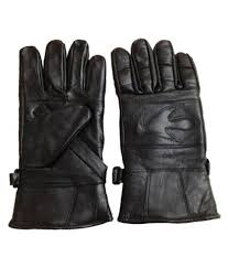 tahiro black leather driving gloves 1 pair at low in india snapdeal