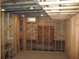 basement remodeling baltimore. Another Basement Underpinning Job, Where You Can See We Have Framed It Out For Complete Finishing Remodeling Baltimore
