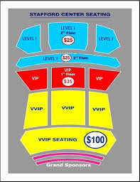 Stafford Center Seating Chart