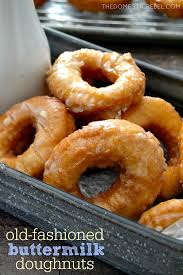 easy homemade ermilk old fashioned doughnuts