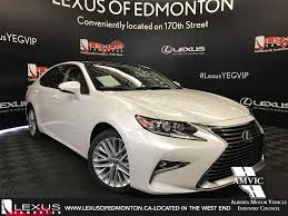 2018 lexus automobiles. Interesting Automobiles WhiteEminent White Pearl 2018 Lexus ES 350 Primary Listing Photo In  Edmonton AB Intended Lexus Automobiles