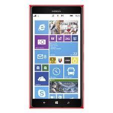 nokia windows. buy nokia lumia 1520 windows mobile phone - red