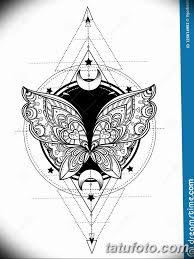 черно белый эскиз тату геометрия 09032019 005 Tattoo Sketch