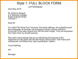 Full Block Format Business Letter Competent Photo Bunch Ideas Of