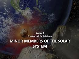 MINOR Members of the Solar System - ppt video online download
