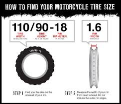 Dirt Bike Tire Size Chart