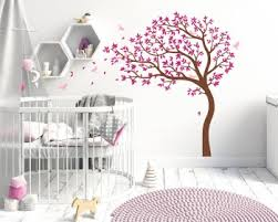 large tree decal with birds on wall art family tree uk with family tree wall decals vinyl wall art stickers