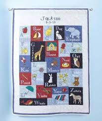 16 best Alphabet baby quilt images on Pinterest | Alphabet quilt ... & #Personalized Alphabet Baby Quilts Adamdwight.com