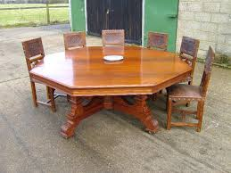 round dining table for 10 people large antique round table huge round dining table to seat