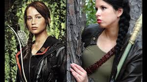 the hunger games katniss everdeen makeup hair costume