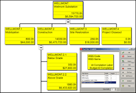 Deliverable Structure Chart The Primavera P6 Wbs Chart View