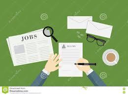 Leute Die Eine Zusammenfassung Schreiben Um Job Vacancy