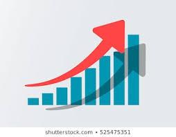 Stock Chart Up Stock Chart Up Stock Illustrations Images Vectors
