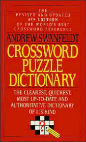 crossword puzzle dictionary by andrew swanfeldt paperback barnes le