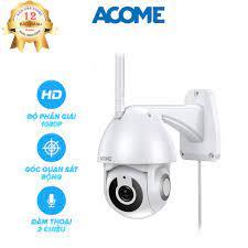 Bảo Hành 12 tháng] Camera IP Wifi Thông Minh Ngoài Trời ACOME APC02 - Độ  Phân Giải 1080P - Hàng Chính Hãng