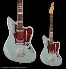 280 best images about fender guitar stuff johnny custom fender jaguar w charlie christian pickups design concept modified fender jaguar