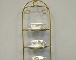 Tea Cup And Saucer Display Stand Teacup display Etsy 97