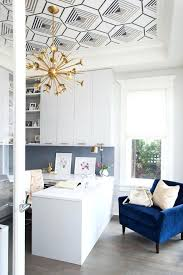 office desk wallpaper. Home Office Wallpaper Navy Blue Transitional With Tray Ceiling Contemporary Chandeliers Custom Made Desk