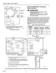 warning, d896 automatic vent damper honeywell automatic vent Fields Power Venter Wiring Diagram warning, d896 automatic vent damper honeywell automatic vent damper d896 user manual page 6 12 fields power venter wiring diagram