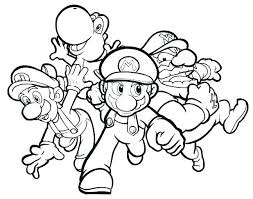 Free Coloring Pages Mario Printable Coloring Sheets Printable Free
